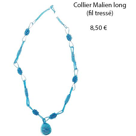 303 collier malien long