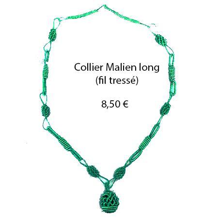 306 collier malien long