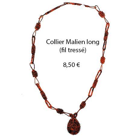 310 collier malien long