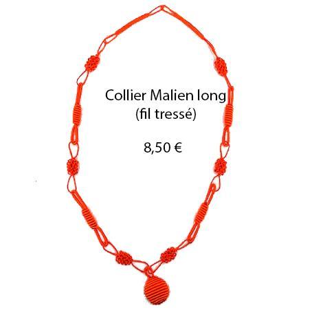 311 collier malien long