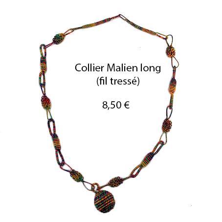 312 collier malien long