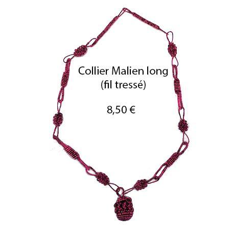 314 collier malien long