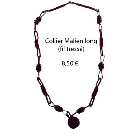 316 collier malien long