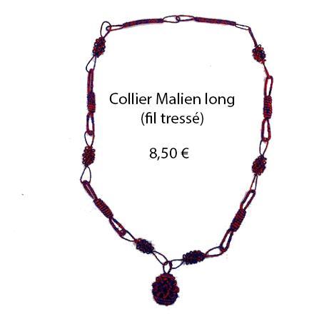 317 collier malien long