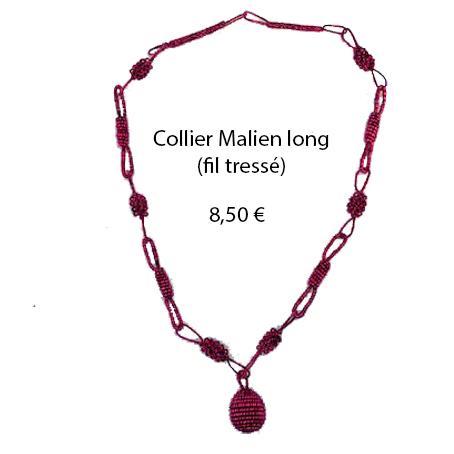 318 collier malien long