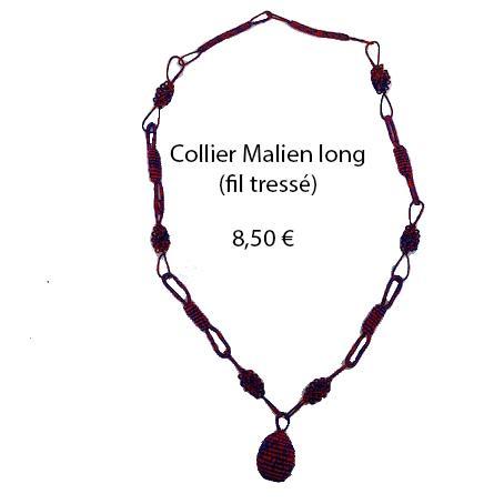 319 collier malien long