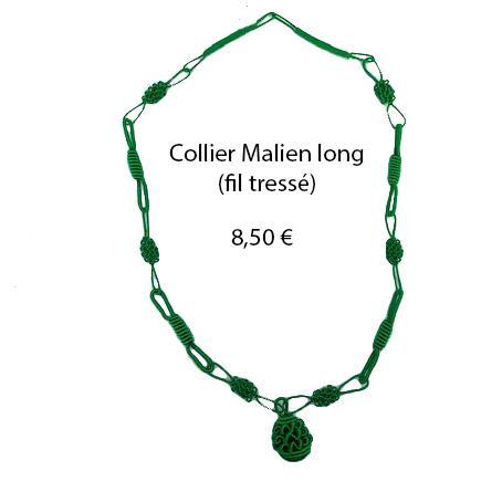 320 collier malien long