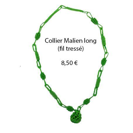 321 collier malien long