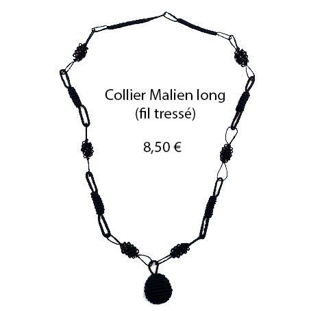 322 collier malien long
