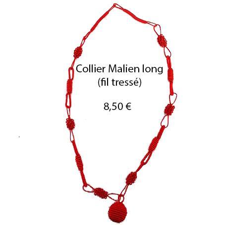 323 collier malien long