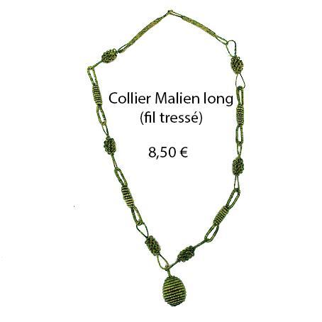 324 collier malien long