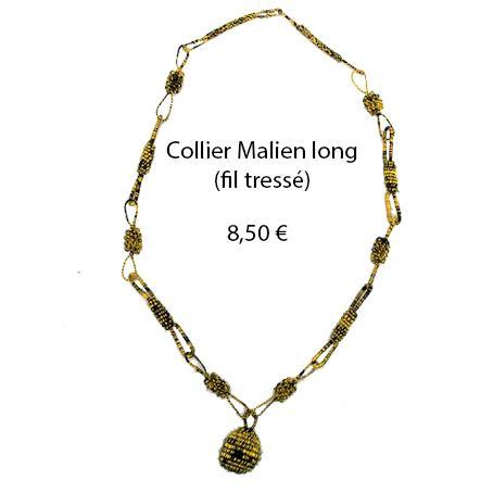 325 collier malien long