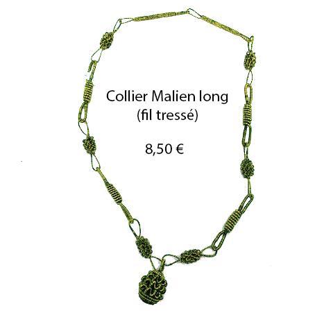 327 collier malien long