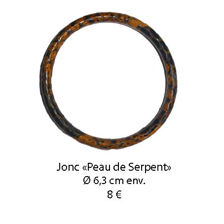 451 jonc peau de serpent