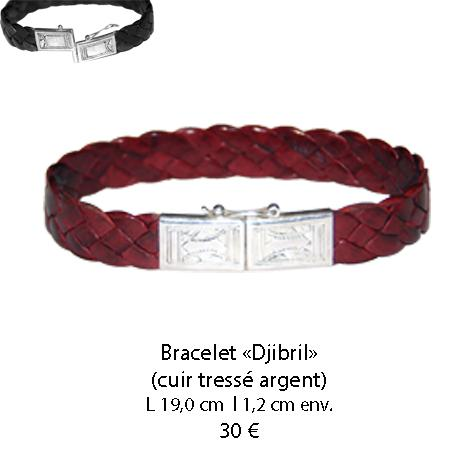 585 bracelet cuir djibril
