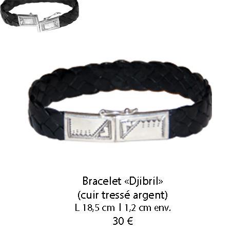 590 bracelet cuir djibril