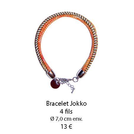 634 bracelets jokko 4 fils