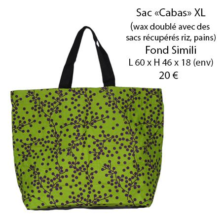 800 sac cabas xl