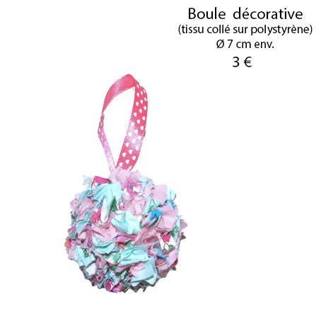 884 boule decorative 7 cm
