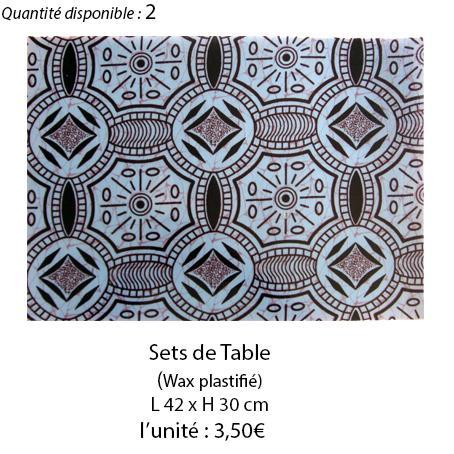 897 set de table