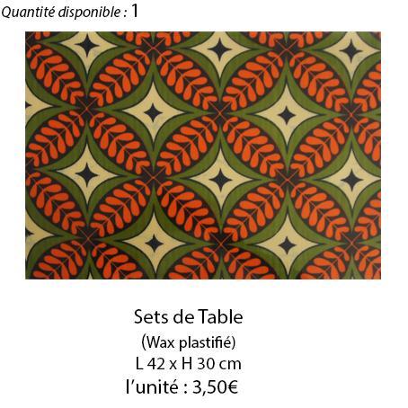902 set de table